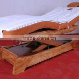 Bed-05B Electric Solid Wood SPA electric massage bed salon furniture