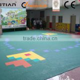 cheap indoor baby playground flooring,playground flooring for child