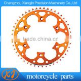 CNC Machined Motorcycle 48T-520 AL 7075 T6 Rear Sprocket With your logo lasered