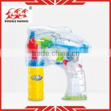 2013 kids toy 1081-2 electronic bubble gun 1 bottle of water for sale with light and music