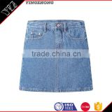 Hot Sale New style Popular 100%cotton jean skirts for women skirt SK-01