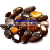 "Bulk Wholesale 1-2"" Customized Engraved pocket letter word pebble stone reiki stones"