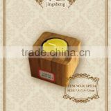 Square bamboo tea light small and nice candle holder