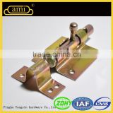 quality zinc plated types of door bolts for wooden door