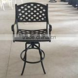 rattan folding wood furniture sports bar chair used bar furniture bar chair with armrest