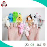 2015 Hot Sale Cute Stuffed Funny Customed felt finger puppet For Wholesale