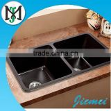 High quality Composite stone quartz kitchen sink with kitchen sink crusher