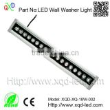 DMX outdoor LED wall wash light / LED wash bar outdoor led recessed light