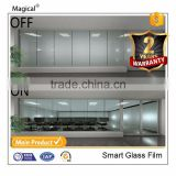 Customized Luxury 3G Self-Adhesive PDLC Film For Office Privacy