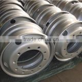 Truck Trailer Tubeless Steel Wheel 22.5x8.25