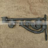 sand cast aluminum gate decoration