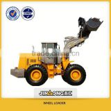 hydraulic grapple log loader JinGong New products (JGM755J-III )5t wheel loader with quick shift equipment