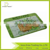 Welcome Printed Best Non Woven Outdoor Mat