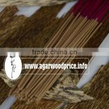 Oud cored incense stick with natural Oud powder and natural glue in Nhang thien JSC Vietnam