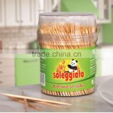 Good quality bamboo toothpicks 500pcs
