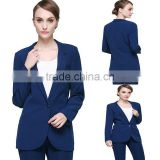 Customized Slim Fit Blazer Suitable Formal Solid High Quality Casual Work Office Jacket Women Blazer Design