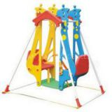 Child Plastic Double Hanging Baby Swing