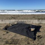 camping mat nylon pocket beach blanket in rain poncho
