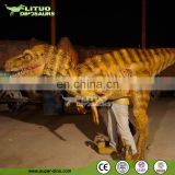 Theme Park Walking with Costume Dinosaur