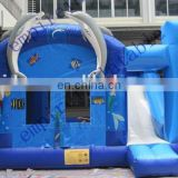 Hot sale safe Finding Nemo theme castle with slide CC066