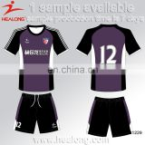 Cheap Football Sports Uniform Designs Women Soccer Jersey Set