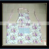 high quality printed cotton apron