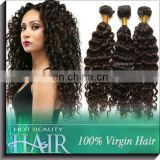 2017 New Cheap Unprocessed Brazilian loose curly hair weaving Discount Fashion