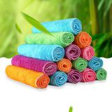 bamboo fiber cloth dish washing towel