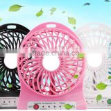 Unique Lithium Ion Batteries USB Led Mini Fan Small Table Fan Desk Fan Used For USB Charger