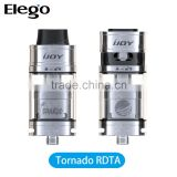 Factory Price Wholesale IJOY Tornado 300W Capable Two Post RDTA Stock Offer from Elego