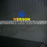 black powder coated Aluminum expanded insect screen-stock supply