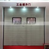 Guangzhou automatic sectional overhead garage door with CE certificate, steel security door