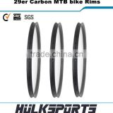 29er carbon mountain bike rims 35mm width carbon mtb rim wheels 28mm depth hookless 29er tubeless rim