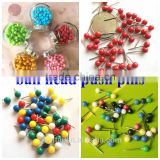 The 4*15mm Color Ball Head Drawig Map Push Pins With High Quality                                                                         Quality Choice
