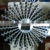 Discounted price extruded large aluminum heat sink (aluminum extrusion heat sink, extruded aluminum heatsink)