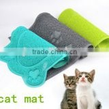 Traps Litter and easy clean cat litter mat,small and large sizes for cat mat feeding mat