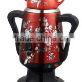 NK-S953B New Kettle Russia electric Samovar SS BODY ceramic kettle