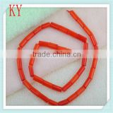 Natural Red Coral Rough Beads