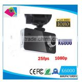 "Cheap K6000 Car DVR Recorder Black Box Full HD Cameras Camcorder 2.4"" 1080P Vehicle Blackbox DVR Night Version Wide Angle Lens D                                                                         Quality Choice"