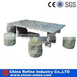 Natural stone tables with chairs, carving stone and chairs, hand carved garden table and chairs