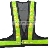 reflective LED safety workwear for roadway construction