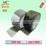 High quality 5cm*10m tactical hunting tape fabric military camouflage cloth duct tape