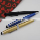 2014 hot selling 4 in 1 multifunction pen Laser Pointer & led Light Stylus ballpoint pen
