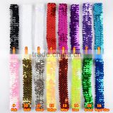 Fashion kids sequin elastic Headband Toddler Headband baby glitter hair band wh-1748