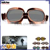 BJ-GT-013 Sliver Recommand motocross goggles helmet motorcycle glasses goggles for Harley