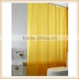 Decorative 3d picture bright color shower curtains