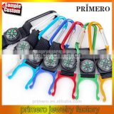 Aluminum Carabiner Clip Water Bottle Holder Hiking Snap Hook Compass Key Chain