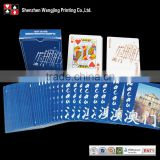 European Plastic Bridge Playing Card,Full Color Printing Bridge Poker Playing Card