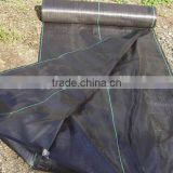 PP woven black agrofabric with 3% uv treatment 70gsm to 130gsm tarps cover