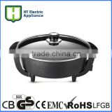 electric grilled chicken mini electric frying pan ceramic frying pan